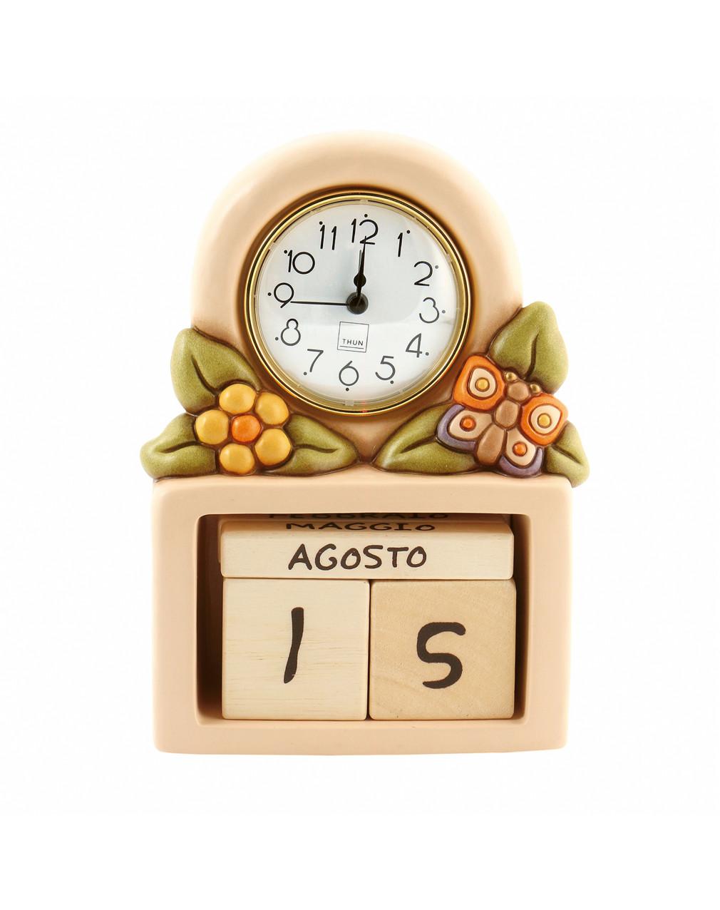Calendario Perpetuo Thun Prestige.Thun Calendario Perpetuo Con Orologio Country Prestige