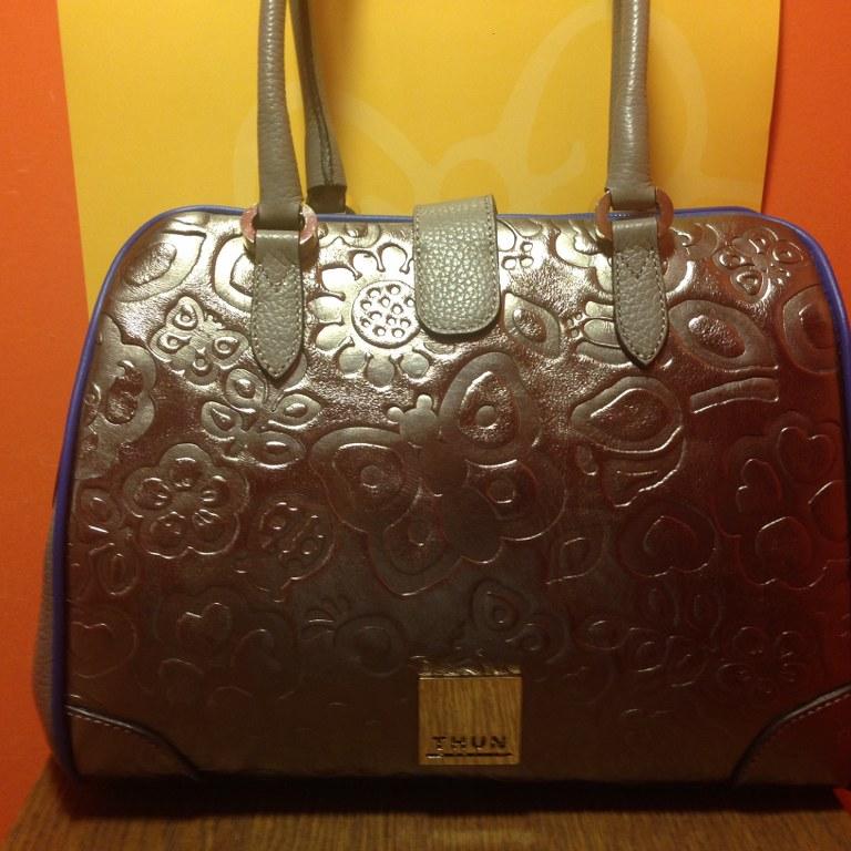 Thun borsa bauletto new prestige bronze prestige store for Thun prestige