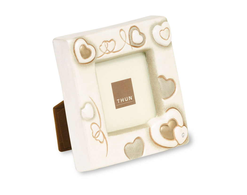 Thun portafoto cuori 11x11 prestige store for Thun accessori bagno