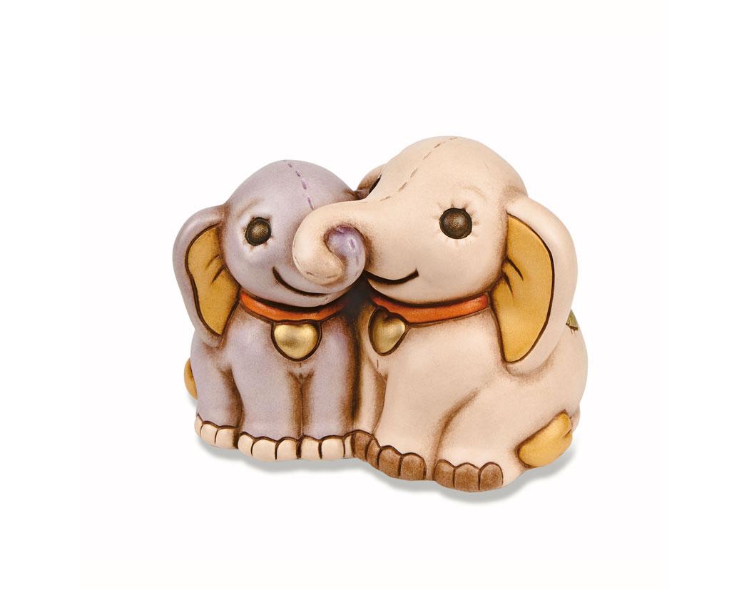 Thun coppia di elefanti di pezza prestige store for Thun prestige