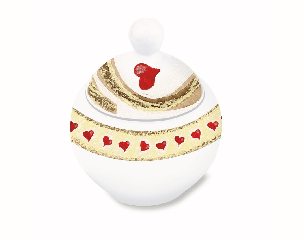 Thun zuccheriera hearts prestige store for Thun prestige